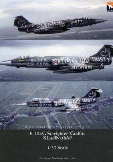 DD32015 'Grafitti' F-104G