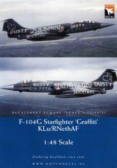 DD48046 'Grafitti' F-104G