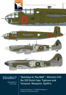 DD48047 Dutchies in the RAF