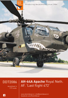 DD72086 Apache Last Flight 472