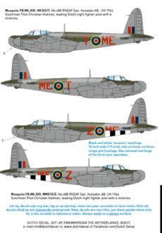 DD32031 P-40N Hurricane KNIL Mosquito