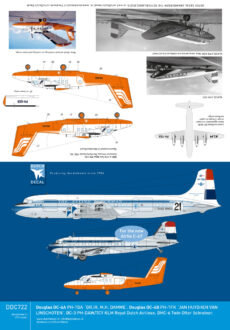 DDC722 DC-3 DC-6 KLM