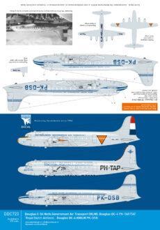 DDC723 DC-4 KLM KNILM