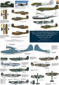 DD48050 C-47, PBY-5, Spitfire, Staggerwing