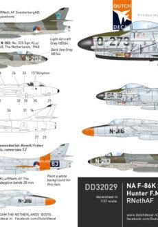 DD32029 Hunter F-86K