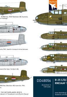 DD48056 B-25 RNEIAAF