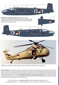 DD48065 MLD B-25 S-51 S-58