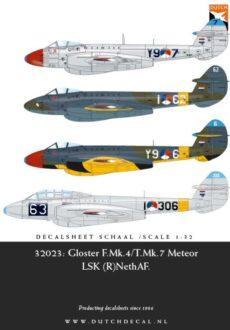 DD32023 Meteor F.Mk.4/T.7