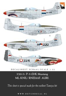 DD32013 RNEIAAF P-51D/K