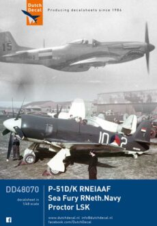 DD48070 P-51D/K Sea Fury Proctor