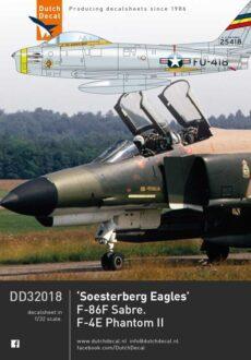 DD32018 F-86 Sabre F -4E Phantom 32th