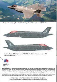 DD32033 F-35A Lightning KLu