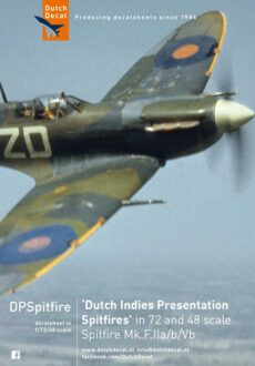 Dutch Indies Presentation Spitfire