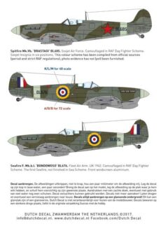 DD Spitfire instruction