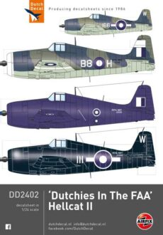 DD2402 Dutchies in the FAA. Hellcat
