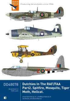 DD48078 Dutchies In The RAF/FAA part 2