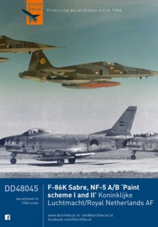 DD48045 F-86K NF-5A/B KLu