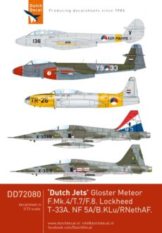 DD72080 Dutch Jets