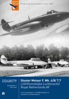 DD48079 Meteor F.4 F.8 dual T.7 KLu