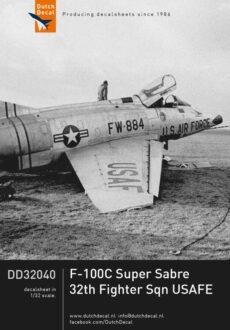 DD32040 F-100C 32th
