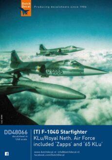 DD48066 (T)F-104G Starfighter KLu