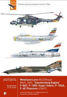 Reprint DD72074 Lynx, 32th Soesterberg Eagles